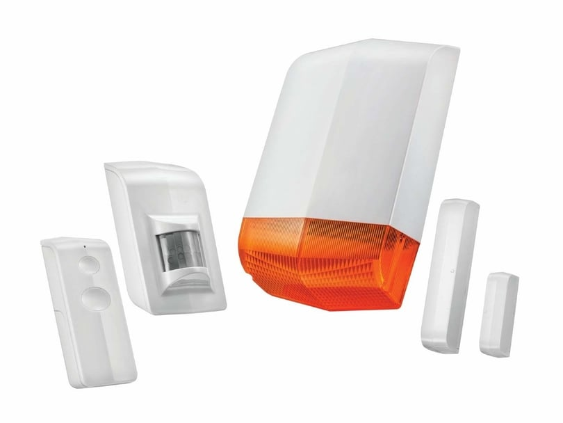 Wireless home alarm system Strensal