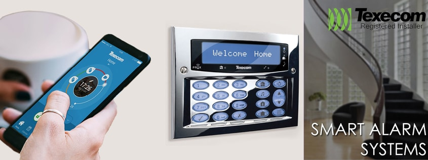 Wireless home alarm system Belton North West Leicestershire