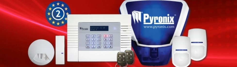 Wireless home alarm system Ely